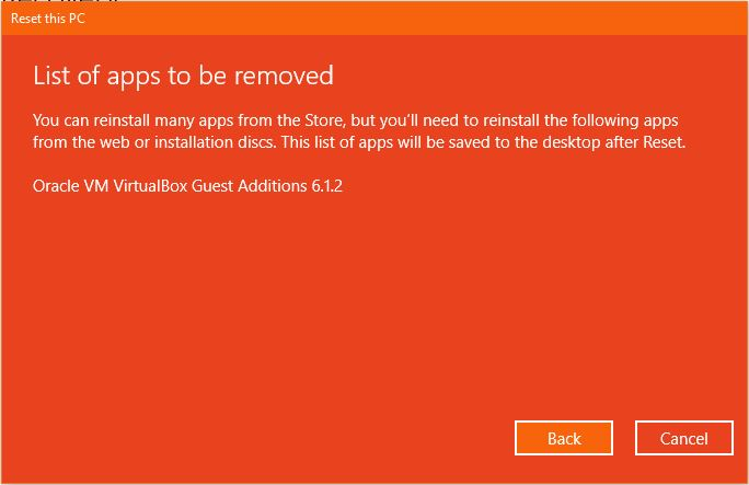 Aplikasi Yang Terhapus Keep My Files Reset This Pc Windows 10