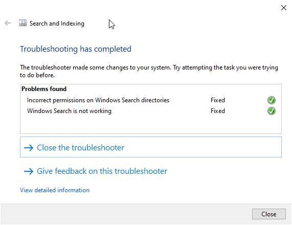 Berhasil Troubleshooter Windows
