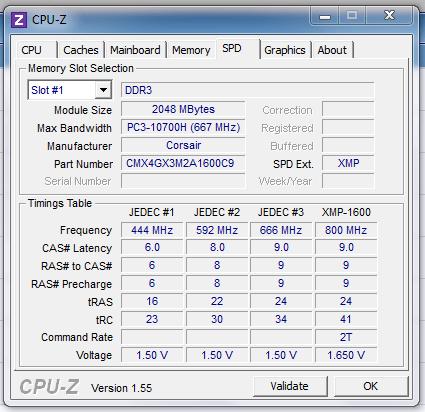 CPU-Z cpu overclocking tool