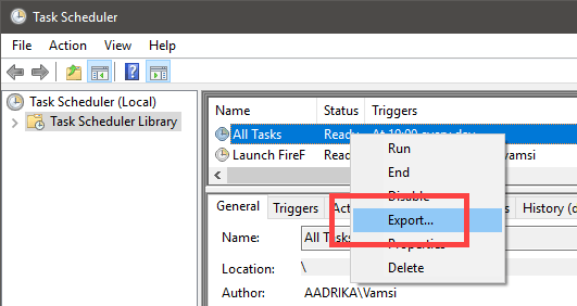 How to Rename Scheduled Task in Task Scheduler | WindowsLoop