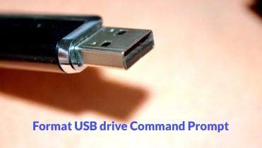 Format usb drive