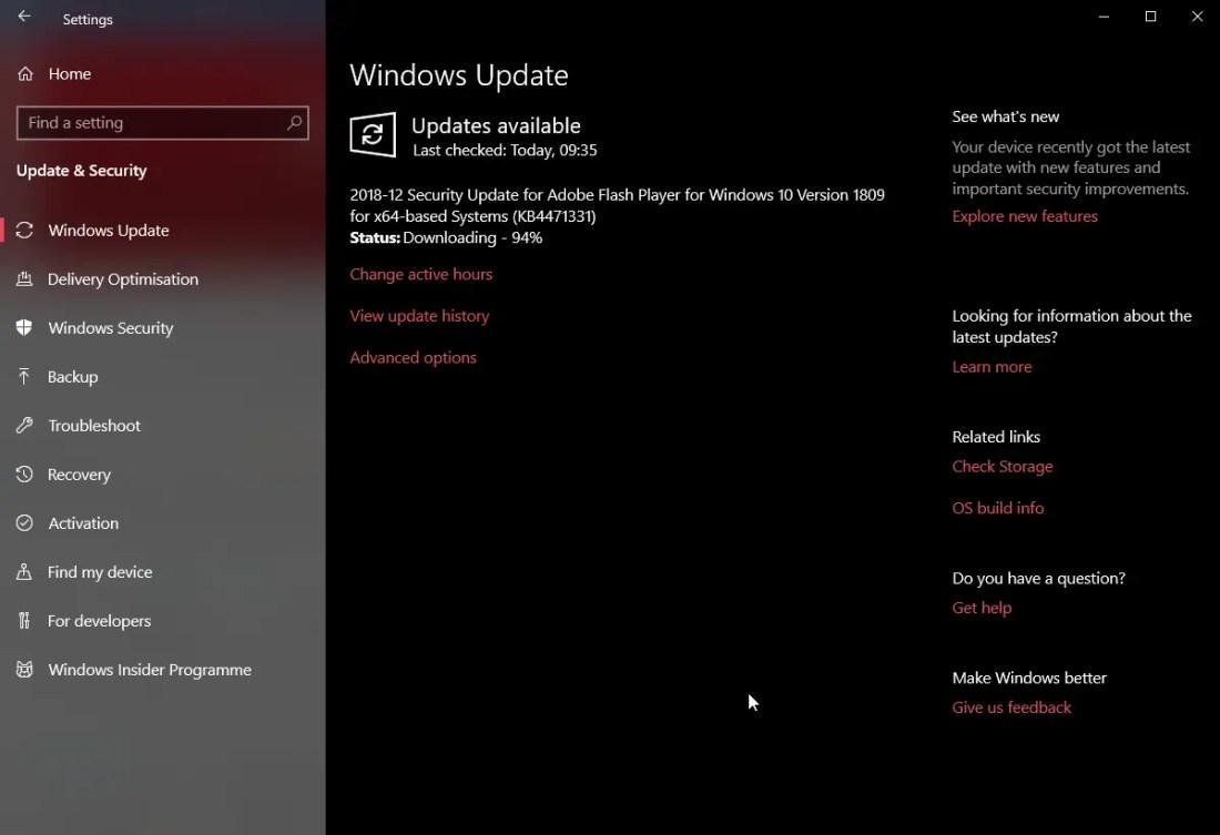 Kb4471331 adobe flash player security update