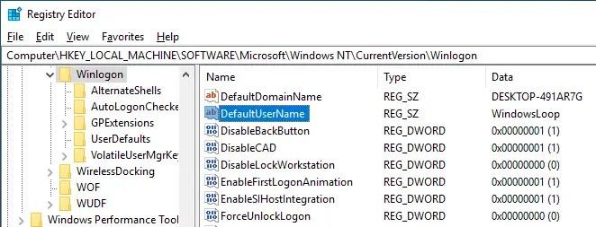 Windows 10 auto login 06