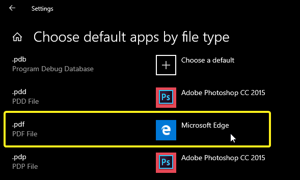 Change default pdf viewer on windows 10 image 06