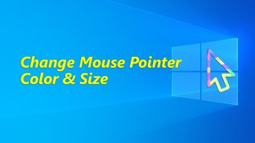 Change mouse pointer color and size image 05