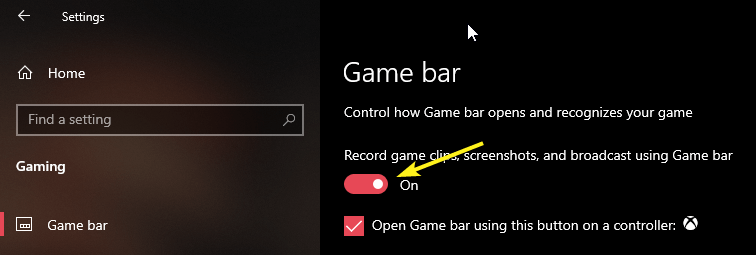 Record screen on windows 10 image 01
