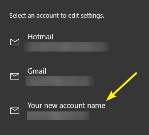 Add email account in mail app 12