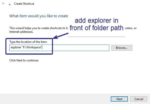 Pin folder to taskbar 04
