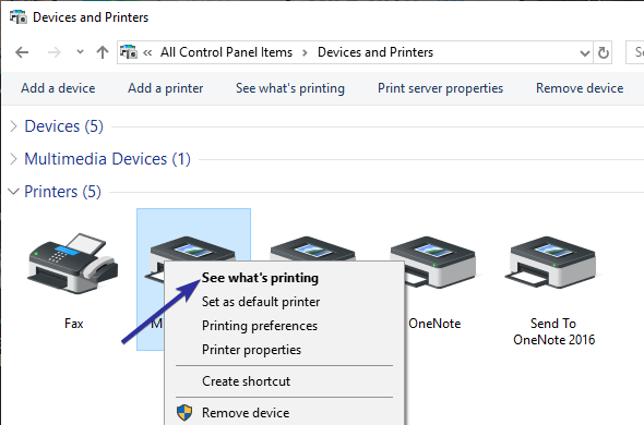 How to Clear the Print Queue in Windows 10 Without Restarting