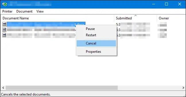 Windows 10 clear print queue 06