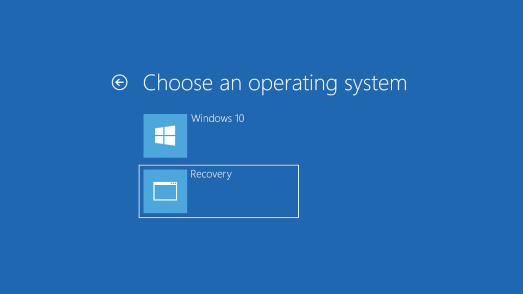 Recovery partition
