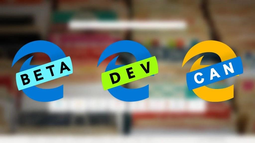 Chromium edge browser builds