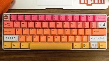 Coloful keyboard