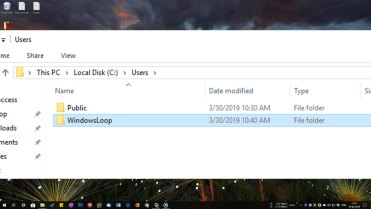 Rename user home folder featured