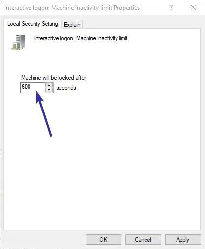 Windows 10 automatically lock 03