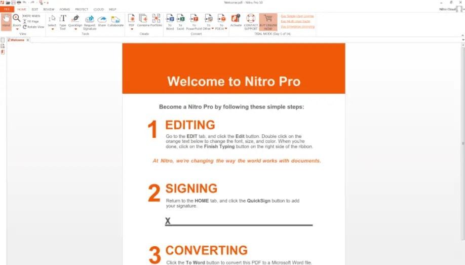 Windows pdf editor nitro pdf