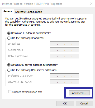 Change network priority step 05