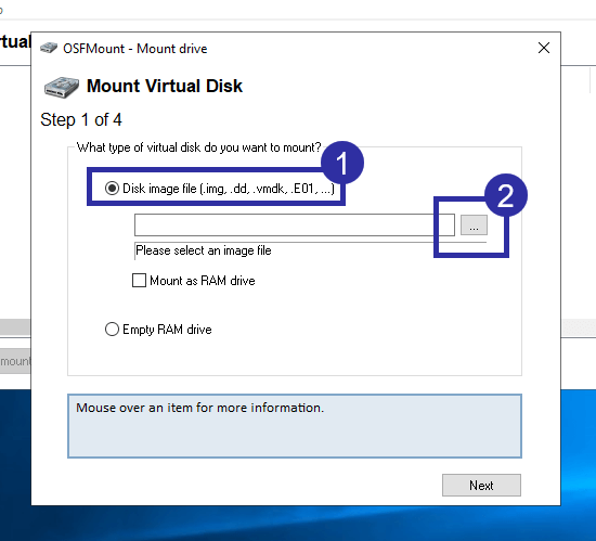 Convert img to iso in windows 04