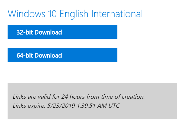 Download may 2019 iso without media creation tool step 09