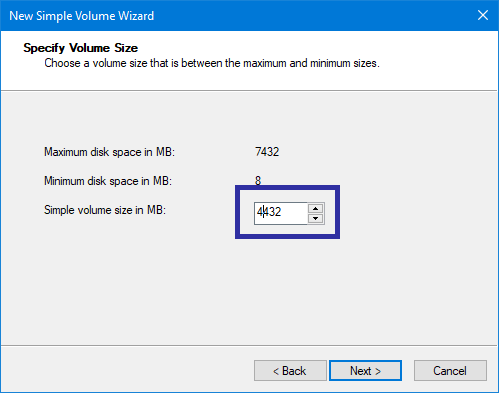 Partition usb drive in windows 07