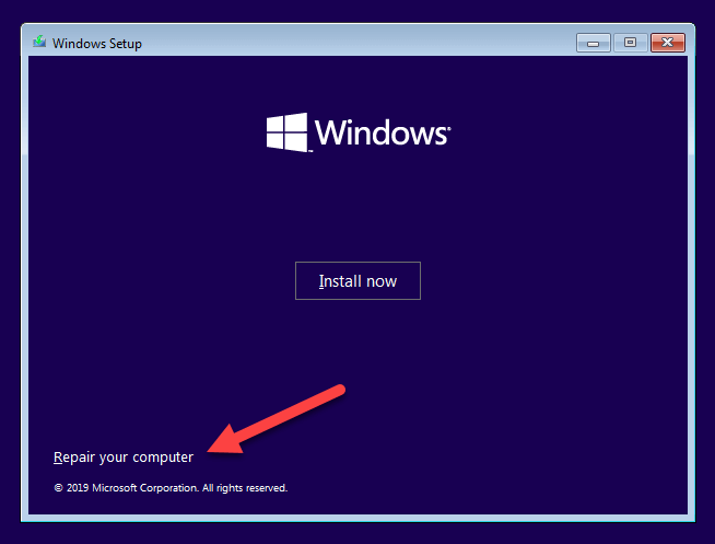 Windows 10 safe mode 12