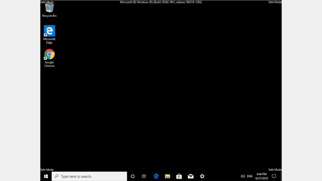 Windows 10 safe mode 27 jun 19 16 44 33
