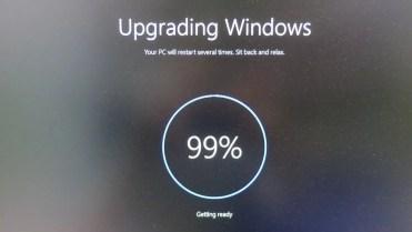 Windows 10 upgrading
