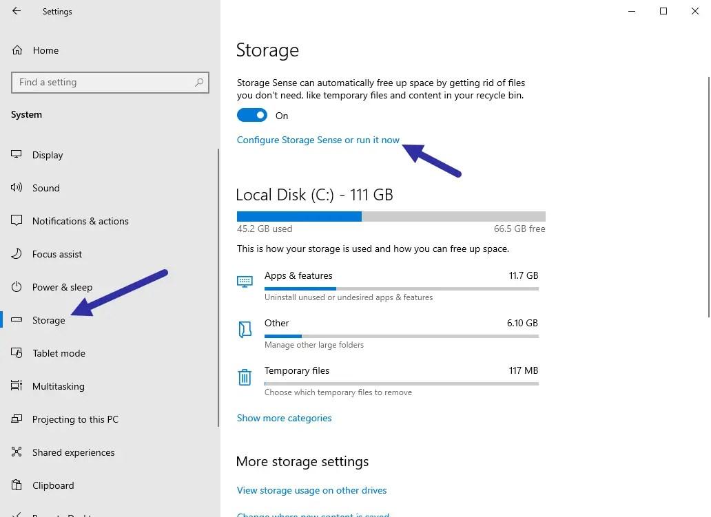 Delete previous windows installations step 01