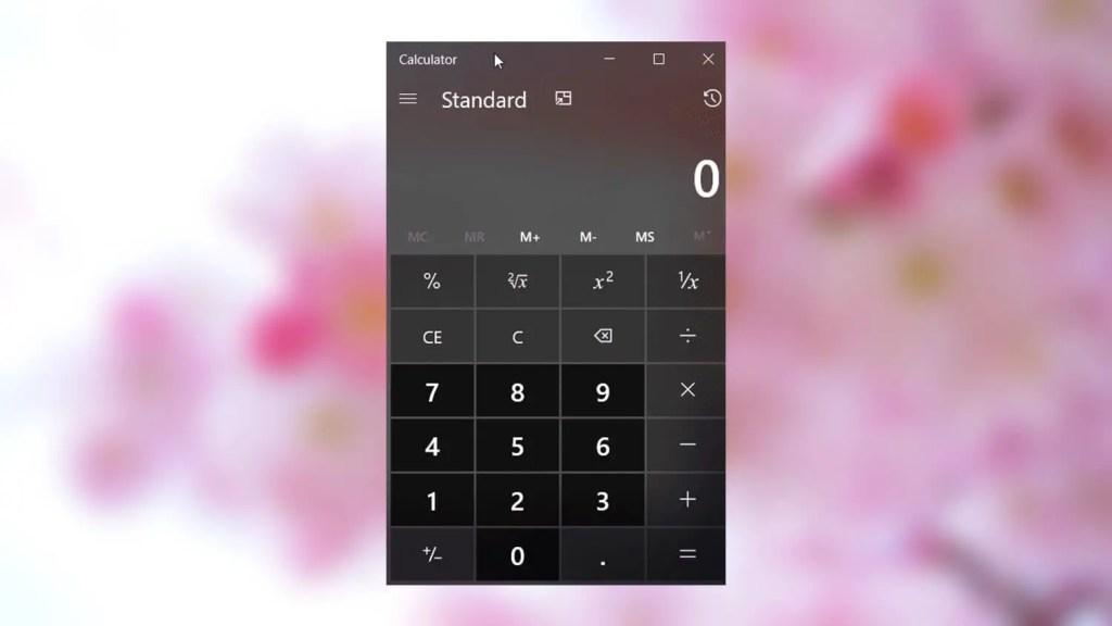 Calculator always on top featured