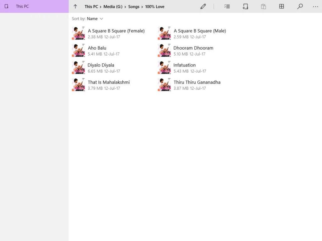 Access uwp file explorer windows 10 - file type support