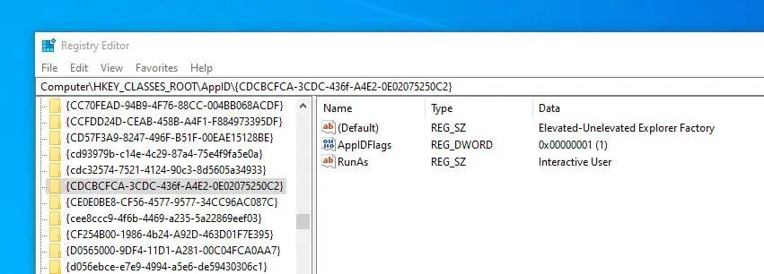 Run-file-explorer-as-admin-go-to-reg-folder