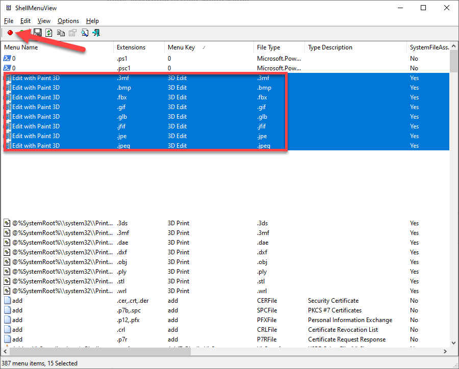 Clean-right-click-and-remove-uncessary-options-windows-disable-multiple-entries