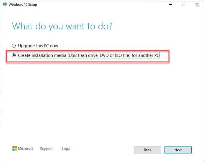 Download-windows-10-v1909-iso-select-create-installation-media-option