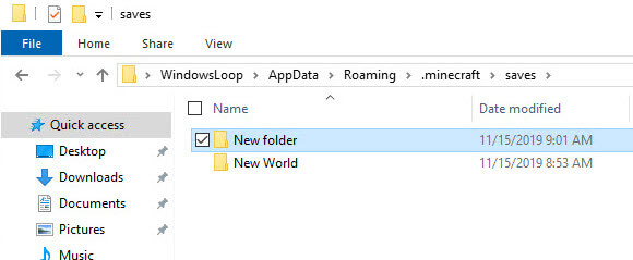 Minecraft-windows-10-to-java-copy-world-to-java-save-location