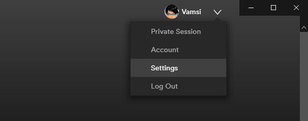 Spotify-download-location-windows-10-click-settings