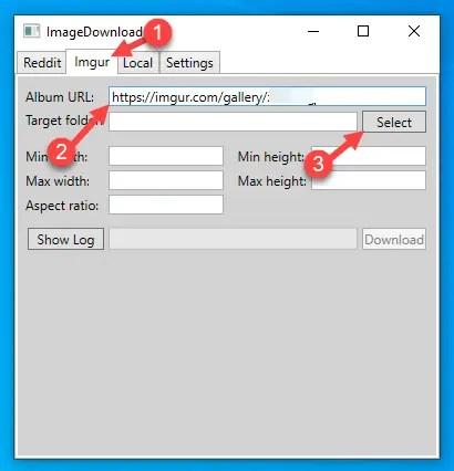 Download-imgur-album-windows-enter-imgur-url