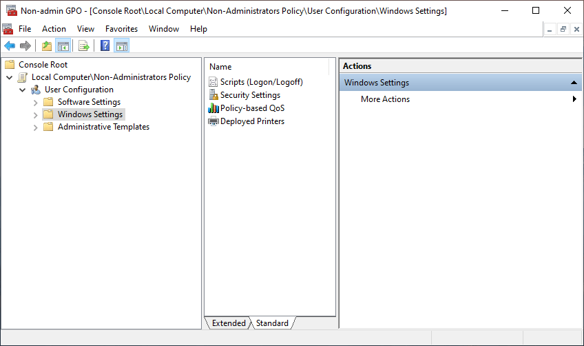 Non-administrator-group-policy-windows-in-action