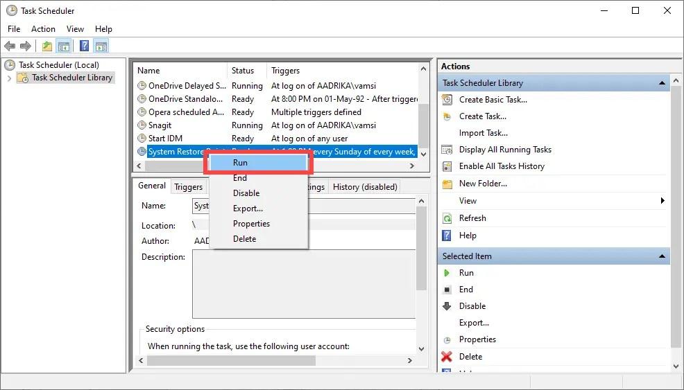 Schedule-system-restore-points-run-task