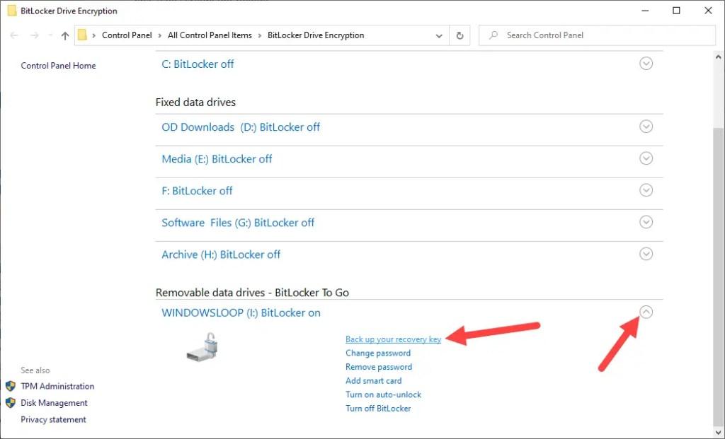 Backup-bitlocker-recovery-key-windows-click-backup-link