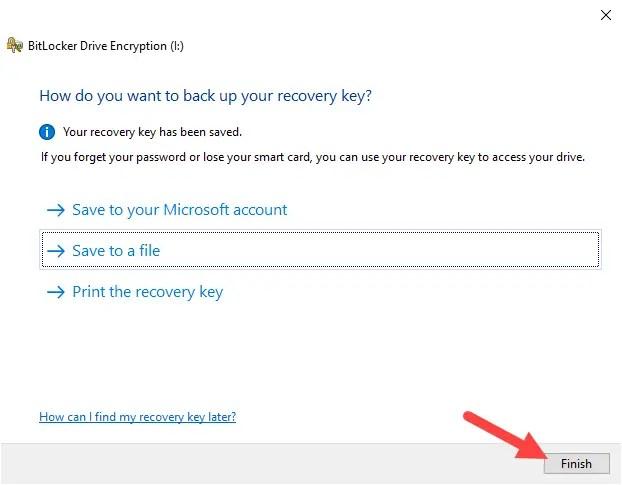 Backup-bitlocker-recovery-key-windows-close-wizard