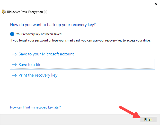 Backup-bitlocker-recovery-key-windows-close-wizard