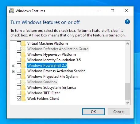PowerShell 2.0 Là Gì? Cách Gỡ Bỏ PowerShell 2.0 Trên Windows 10 - VERA STAR