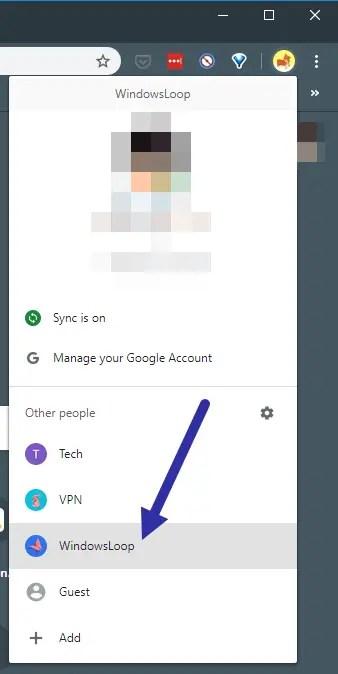 Pin-chrome-profile-to-taskbar-select-profile