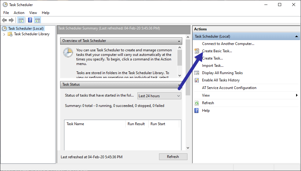 Schedule-batch-file-create-task