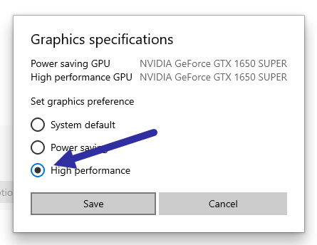 Set-nvidia-graphics-card-as-default-select-high-performance