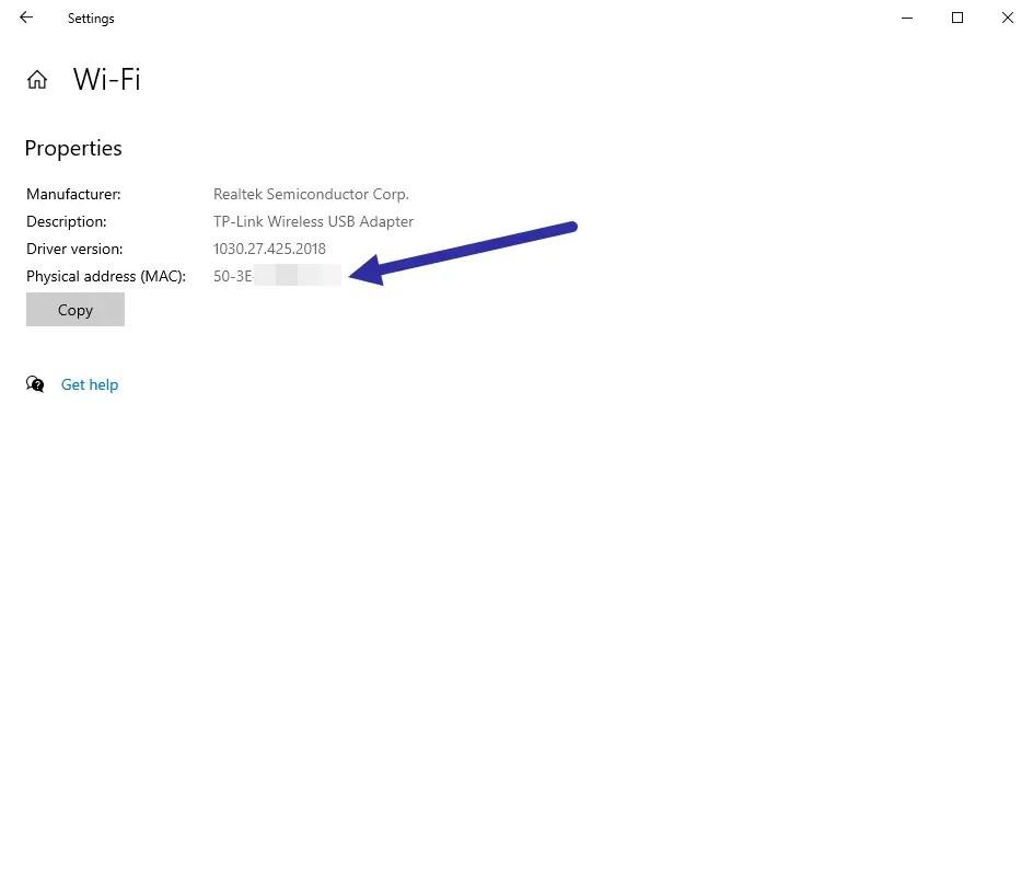 Windows-10-mac-address-wifi-mac