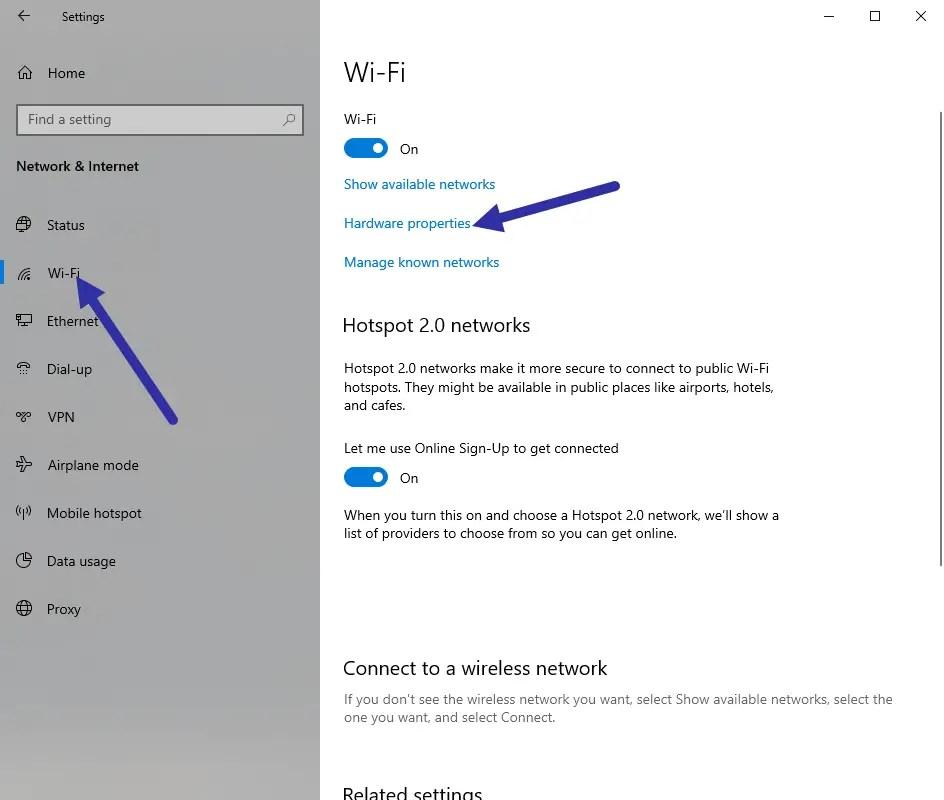 Windows-10-mac-address-select-wifi