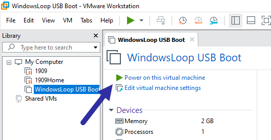 Boot-from-usb-vmware-power-on-vm