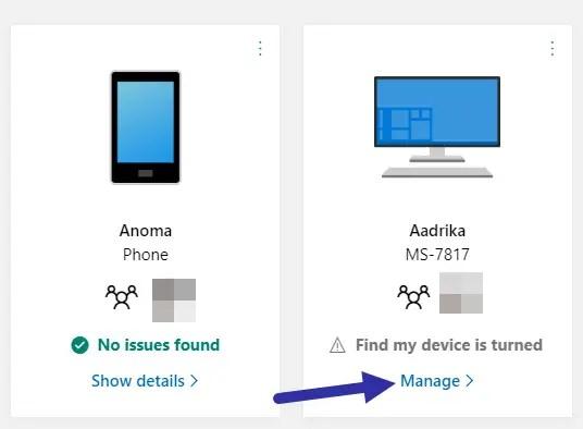 Unlink-windows-10-license-click-manage