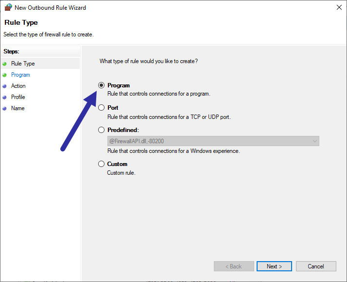 Block-program-with-windows-firewall-program